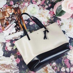 Kate Spade Black/Cream Shoulder Bag